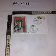 FB11654 FDC FILIGRANO ROMA 1986 TIMBRO ANNULLO 25'' CONGRESSO INTERNAZIONALE DI OFTALMOLOGIA - F.D.C.