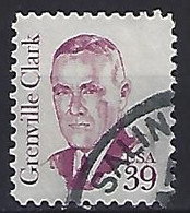 USA  1985  Grenville Clark  (o) Mi.1730  A  (p.10.75) - Gebraucht