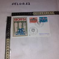 FB11658 FDC FILIGRANO ROMA 1984 TIMBRO ANNULLO EUROPA 1984 - F.D.C.