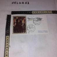 FB11659 FDC FILIGRANO ROMA 1984 TIMBRO ANNULLO CENTENARIO DERBY ITALIANO DI GALOPPO - F.D.C.