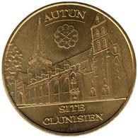 71-1382 - JETON TOURISTIQUE MDP - Autun - Cathédrale Saint Lazare - 2012.4 - 2012