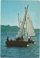 AA2849 Centro Velico Caprera - Corso Italia Milano - Barche Boats Bateaux / Viaggiata 1977 - Sonstige
