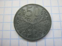 Bohemia & Moravia 50 Haleru 1943 - Czechoslovakia