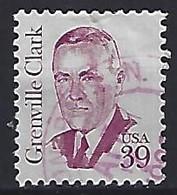 USA  1985  Grenville Clark  (o) Mi.1730  F  (p.11.25 X 11)(1987) - Gebraucht