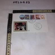 FB11661 FDC FILIGRANO VENEZIA 1984 TIMBRO ANNULLO IL LAVORO ITALIANO PER IL MONDO L'ARTE DEL VETRO - F.D.C.