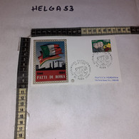 FB11663 FDC FILIGRANO ROMA 1984 TIMBRO ANNULLO PATTO DI ROMA 1944-1984 - F.D.C.