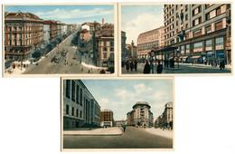 Milano , Porta Vittoria , Corso Buenos Ayres , Largo S. Babila - Milano (Milan)