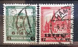 Deutsches Reich 1932, Mi 463-64 Gestempelt - Gebraucht