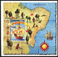 {GB192} Guinea - Bissau 1983 Brasiliana'83 Sailing Ships Boats S/S MNH** - Guinea-Bissau