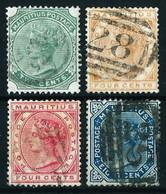 Mauricio (Británico) Nº 69/72 ... - Mauritius (...-1967)