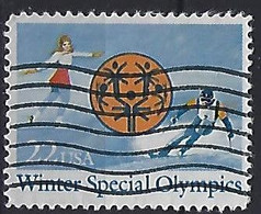 USA  1985  Winter Special Olympics  (o) Mi.1737 - Gebraucht