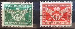 Deutsches Reich 1925, Mi 370-71 Gestempelt - Gebraucht