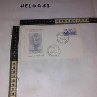 FB11674 FDC PEGASO ROMA 1970 TIMBRO ANNULLO 3'' MOSTRA FILATELICA PERSONALE POLIZIA DI STATO - F.D.C.