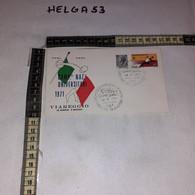 FB11675 FDC VIAREGGIO 1971 TIMBRO ANNULLO CAMPIONATI NAZIONALI UNIVERSITARI 1971 - F.D.C.