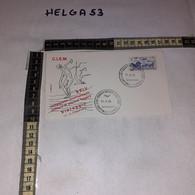 FB11676 FDC VIAREGGIO 1970 TIMBRO ANNULLO XXIV CAMPIONATO C.I.S.M. ATLETICA LEGGERA - F.D.C.