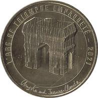 2021 MDP197 - PARIS - Arc De Triomphe 5 (Christo And Jeanne-Claude) / MONNAIE DE PARIS - 2021