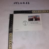 FB11690 STORIA POSTALE USA TIMBRO ANNULLO VINCENNES 1986 FRANCIS VIGO - Briefe U. Dokumente