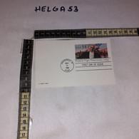 FB11691 STORIA POSTALE USA TIMBRO ANNULLO VINCENNES 1986 FRANCIS VIGO - Briefe U. Dokumente
