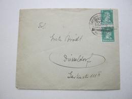 1927 , Witten  - Landesheimatspiel, Klarer Sonderstempel Auf Brief - Briefe U. Dokumente