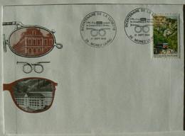 Bicentenaire De La Lunette, 39 MOREZ, Jura, Lettre Timbrée Avec Le N° 3017 Du 21-09-1996, TB - Briefe U. Dokumente