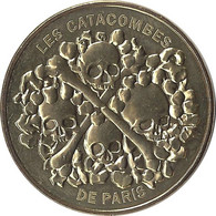 2021 MDP289 - PARIS - Les Catacombes 3 ( Les 4 Crânes) / MONNAIE DE PARIS - 2021