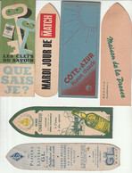 Lot De 16 Marque-Pages  Publicitaire - Bookmarks