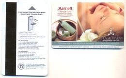 Marriot Mexico City Reforma Hotel, Mexico D.F., Used Magnetic Hotel Room Key Card, #  Marrriot-106 - Hotel Keycards