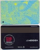 Le Meridien Hotels, Used  Magnetic Hotel Room Key Card # Meridien-26 - Hotel Keycards