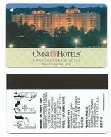 Omni Shoreham Hotel, Washington DC, U.S.A., Used Magnetic Hotel Room Key Card # Omni-6 - Hotel Keycards