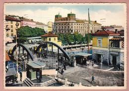 Cartolina Fiume Ponte Di Confini Fra L' Italia E La Jugoslavia - Viaggiata 1941 - Yugoslavia