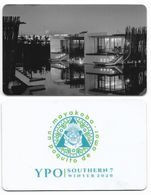 Rosewood Mayakoba Hotel, Quintana Roo, Mexico, Used Contactless Hotel Room Key Card, # Rosewood-17a - Hotel Keycards