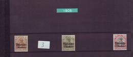 03 MAR MAROC BUREAUX ALLEMANDS 1905* Cote 2005 28 € - Deutsche Post In Marokko