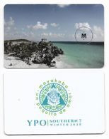 Rosewood Mayakoba Hotel, Quintana Roo, Mexico, Used Contactless Hotel Room Key Card, # Rosewood-14a - Hotel Keycards
