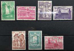 België, 1962, 1205/11, Prachtig Centraal Gestempeld KORTRIJK, OBP 6.5€ - Gebraucht