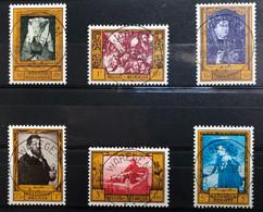 België, 1958, 1076/81, Prachtig Centraal Gestempeld WAREGEM, OBP 10€ - Gebraucht