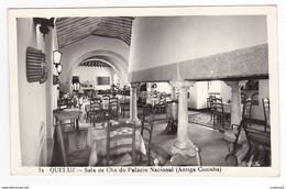 Portugal QUELUZ Sintra Vers Lisboa N°32 Sala De Cha Do Palacio Nacional Hotel Antiga Cozinha Colecçao Passaporte LOTY - Lisboa