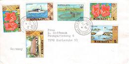 KIRIBATI - LETTER 1982 > KARLSRUHE/DE / GR122 - Kiribati (1979-...)
