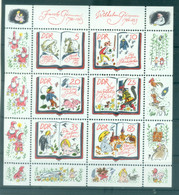 Allemagne - RDA 1985 - Y & T N. 2610/15 - Les Frères Grimm  (Michel N. 2987/92) - Blocks & Kleinbögen