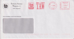 Absenderfreistempel - Wuppertal, Technische Akademie (TAW), 1999 - Briefe U. Dokumente