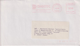 Absenderfreistempel - Ettlingen, DANTEC Elektornische Messgeräte GmbH, 1993 - Briefe U. Dokumente