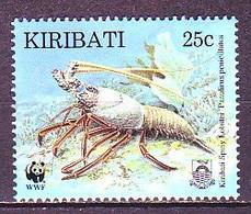 Kiribati 1998 MiNr. 771 Crustaceans Spiny Lobster Marine Life1v MNH** 0,80 € - Kiribati (1979-...)