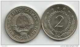 Yugoslavia 2 Dinara 1971. KM#57 - Yugoslavia