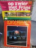 Lot 10 Originele Dansorgel Orgel Elpees 8x Decap, 1x Bursens, 1x Mortier, Lot 10 Orgues Danse Decap Mortier Bursens - Collections Complètes