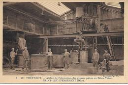 SAINT- LEU- D ESSERENT -  MME THEVENOT -  ATELIER DE FABRICATION DES GROSSES PIECES EN BETON VIBRE - Other Municipalities
