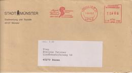 Absenderfreistempel - Münster, Stadtmuseum Annette-von Droste-Hülshoff-Ausstellung, 1997 - Briefe U. Dokumente