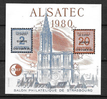 FRANCE BLOC CNEP ALSATEC N° 1  Année 1980 ** . - CNEP