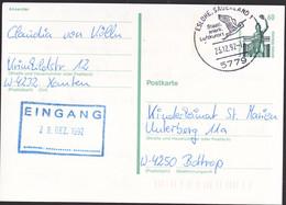 Duitsland 1992, Stamped With A Bird, Eslohe, Sauerland - Postkarten - Gebraucht