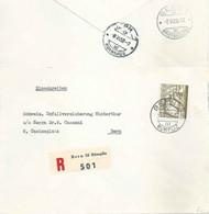 Lokaler R Brief  Bern Bümpliz - Bern Kornhaus          1950 - Cartas