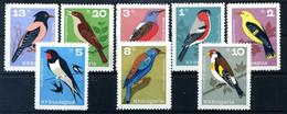 1965 BULGARIA SET MNH ** Uccelli Birds - Pájaros Cantores (Passeri)