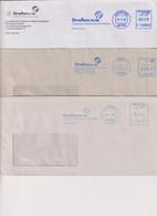 Absenderfreistempel - Landesbetrieb Strassen NRW, Münster+Hamm+Krefeld, 2002-2014 - Briefe U. Dokumente